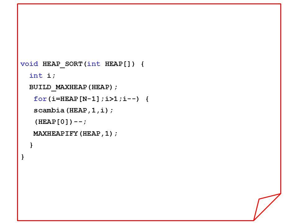 void HEAP_SORT(int HEAP[]) {